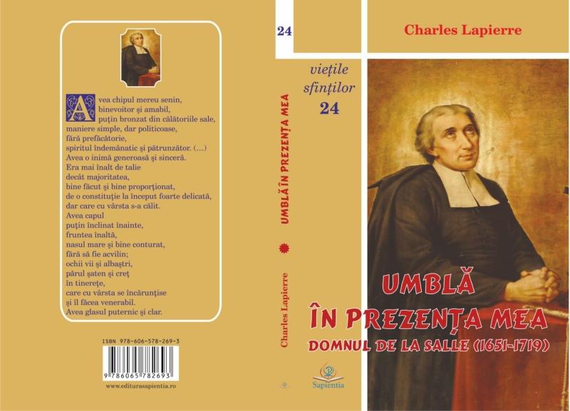 Tipografia Elena Bacau Coperta Sapientia De La Salle