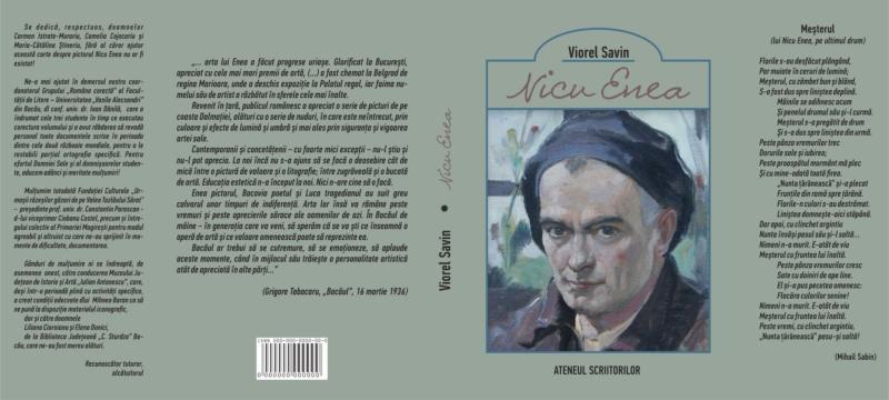 Tipografia Elena Bacau Coperta Savin Nicu Enea